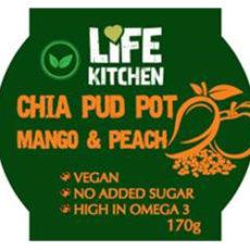 Chia mango and Peach Life Kitchen